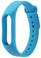 Ремешок силиконовый для фитнес трекера Xiaomi Mi Band 2, голубой