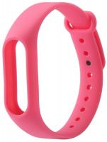 Ремешок силиконовый для фитнес трекера Xiaomi Mi Band 2, розовый