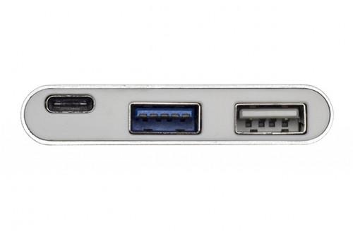 Адаптер-переходник Type-C Rock  3 USB + Type-C converter