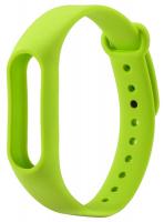 Ремешок силиконовый для фитнес трекера Xiaomi Mi Band 2, зеленый