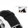 Кожаный ремешок Rock Genuine Leather Watchband для Apple Watch 38мм, черный