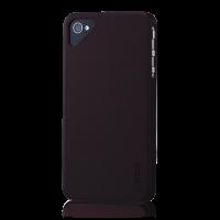 Чехол Ego серии Crack для iPhone 4/4S,винно-бордовый