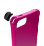 Противоударный чехол накладка Ballistic LS Series для iPhone 5/5S/5SE Ярко-розовый