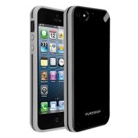 Чехол накладка Slim Shell Case для iPhone 5/5S/5SE Black