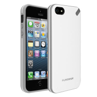 Чехол накладка Slim Shell Case для iPhone 5/5S/5SE White