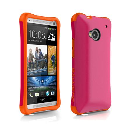 Чехол Ballistic Aspira для HTC One, розовый/оранжевый