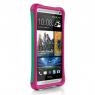 Чехол Ballistic Aspira для HTC One, бирюзовый/розовый