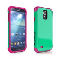 Чехол  Ballistic  Aspira для Samsung Galaxy S4  (бирюзовый/розовый)