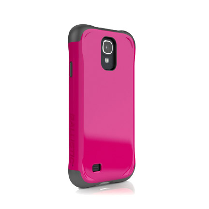 Чехол Ballistic Aspira для Samsung Galaxy S4(розовый/серый)