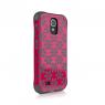 Чехол  Ballistic  Aspira для Samsung Galaxy S4 (розовый/серый)
