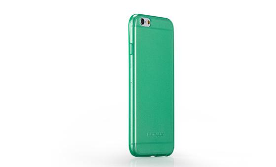 Накладка силиконовая Momax Clear Twist для Apple iPhone 6, зеленая