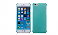 Накладка пластиковая Momax Clear Breeze для Apple iPhone 6, зеленая