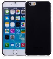 Чехол пластиковый Momax Membrane Case 0.3 mm для Apple iPhone 6 Plus, черный