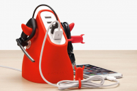 Сетевой блок питания Momax U.Bull 5-port USB Charger, красный