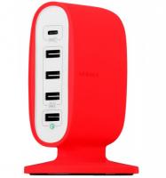 Сетевое зарядное устройство Momax U.Bull 5-USB Charging Station (Type-C +QC 3.0) 8A/40W