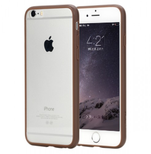 Чехол Rock Pure Series для Apple iPhone 6/6S, коричневый