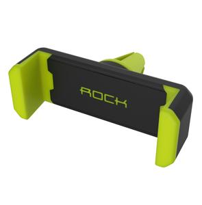 Автомобильный держатель для телефонов в воздуховод Rock Vent Car Holder, зеленый