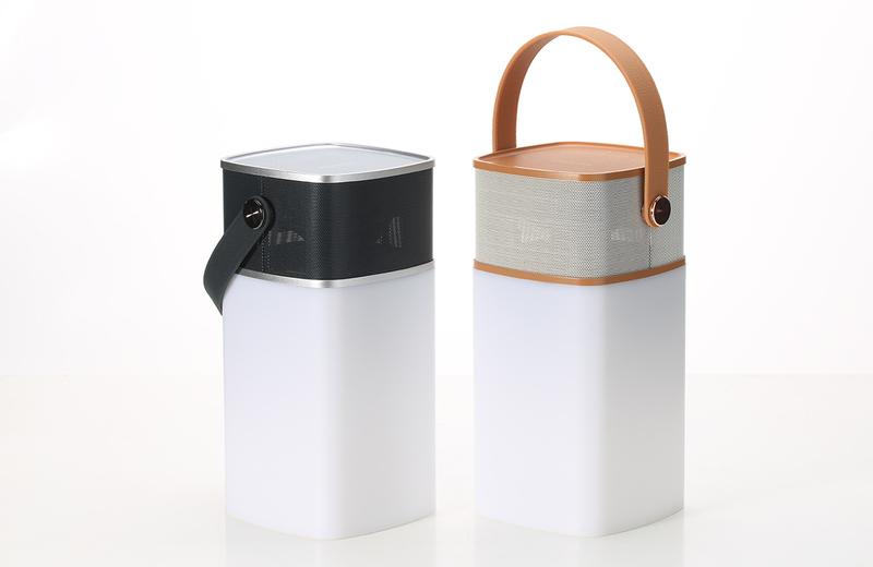 Портативная Bluetooth колонка Rock Mulite Bluetooth Speaker, коричневый