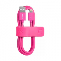 USB кабель Momax Elite Link для Apple Lightning для Apple iPhone / iPad, розовый