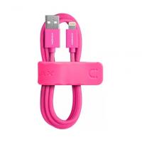USB кабель Momax Elite Link для Apple Lightning для Apple iPhone / iPad, розовый