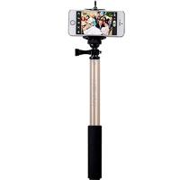 Монопод палка-штатив для селфи Momax SelfiFit - Bluetooth Selfie Pod KMS1, золотой