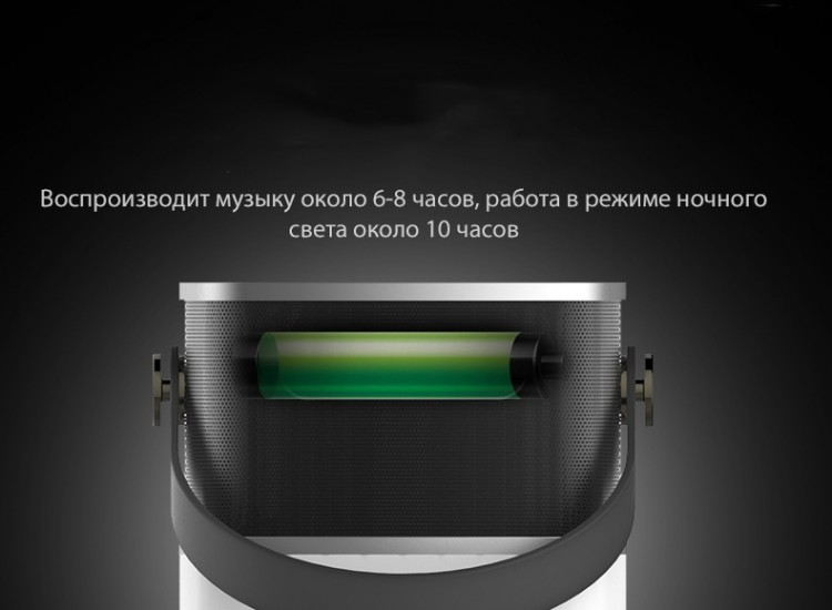 Портативная Bluetooth колонка Rock Mulite Bluetooth Speaker, черный