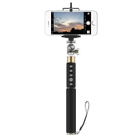 Монопод палка-штатив для селфи iHave Selfie Shetter & Stick с Bluetooth пультом(ROT0701), золотой
