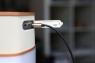 AUX кабель Rock Audio Cable 3.5 мм, 1 метр золотой