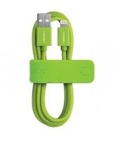 USB кабель Momax Elite Link для Apple Lightning для Apple iPhone / iPad, зеленый