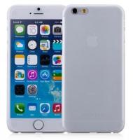 Чехол пластиковый Momax Membrane Case 0.3 mm для Apple iPhone 6 Plus, белый