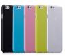 Чехол пластиковый Momax Membrane Case 0.3 mm для Apple iPhone 6 Plus, розовый
