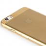Чехол силиконовый Rock Ultrathin Slim Jaсked для iPhone 6 Plus, золотой