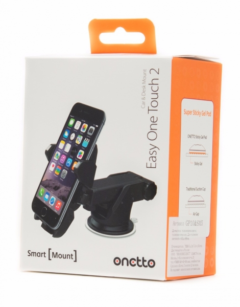 Держатель автомобильный Onetto Car&Desk Mount Easy One Touch 2 на торпеду