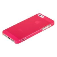 Накладка пластиковая Xinbo для iPhone 5/5S розовая