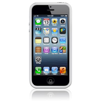 Бампер для Apple iPhone 5/5S Bumpers белый