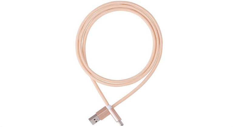 Плетеный кабель USB Type-C MOMAX Elite Link, золотой