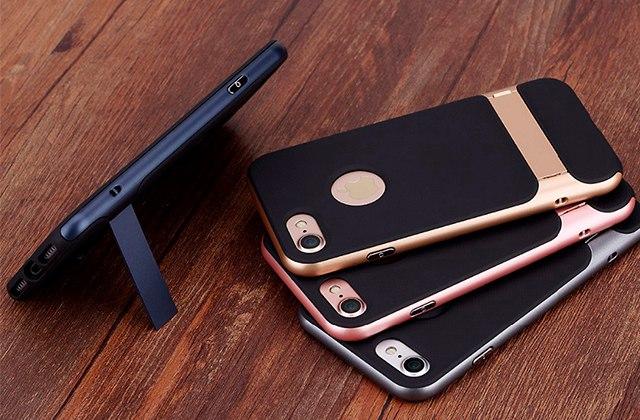 Чехол Rock Royce Kickstand с подставкой для iPhone 7, золотой