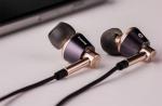 Наушники 1MORE E1001-L Triple Driver Lightning In-Ear Headphones, золотые