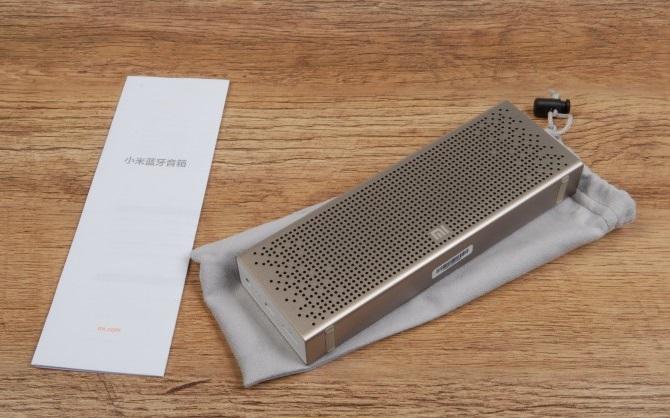 Портативная bluetooth колонка Xiaomi Mini Square Box 2, золотой