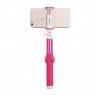 Комплект монопод и трипод Momax Selfie Hero Selfie Pod 100 см (KMS7), розово-белый