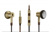 Наушники 1MORE EO320 Single Driver In-Ear EarPods Headphones, золотые