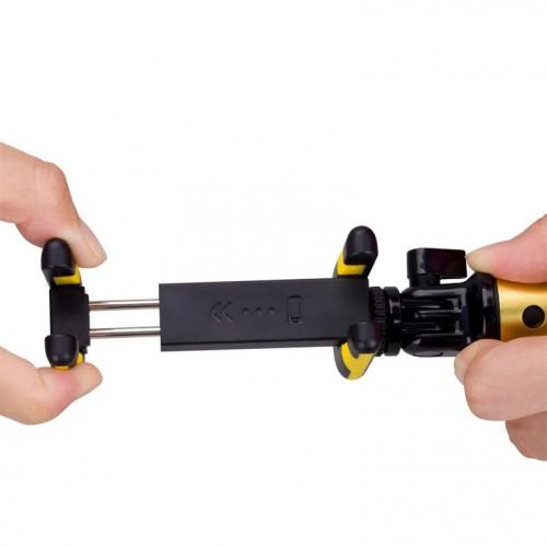 Комплект монопод и трипод Momax Selfie Hero Selfie Pod 100 см (KMS7), желто-золотой