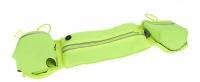 Сумка поясная для смартфона Rock Multifunctional Running Belt, зеленая
