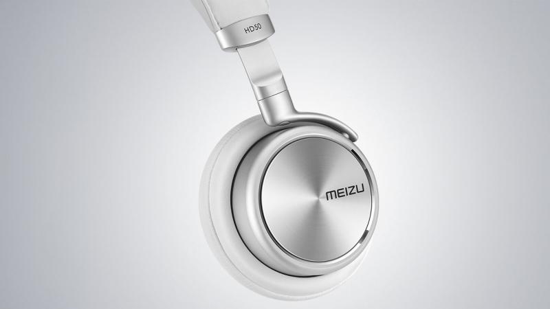 Наушники накладные Meizu HD50, белые
