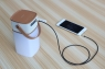 AUX кабель Rock Audio Cable 3.5 мм, 1 метр серый