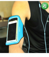 Спортивный чехол на руку Rock Slim Sport Armband для Apple iPhone 7/6/6S, голубой