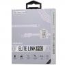 USB кабель lightning Momax Elite Link Pro MFI, 1 метр белый