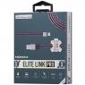USB кабель lightning Momax Elite Link Pro MFI, 1 метр черный