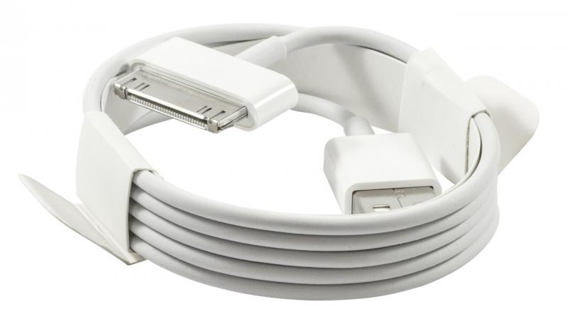 USB кабель 30-pin Apple для iPad 3/ iPad 2/ iPad/ iPhone 4s/ 3G/ 3Gs/ iPod