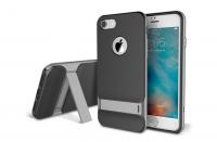 Чехол Rock Royce Kickstand с подставкой для iPhone 7, серый
